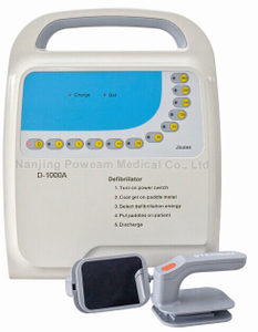 Hospital Portable Aed Automated External Biphasic Defibrillator (D-1000B)
