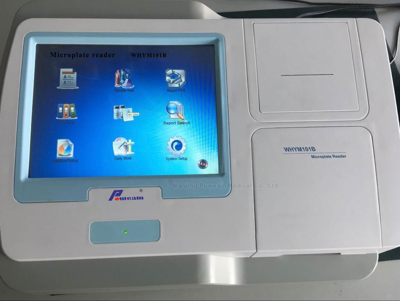 Hospital Clinic Lab Touch Screen Micro Plate Microplate Elisa Reader